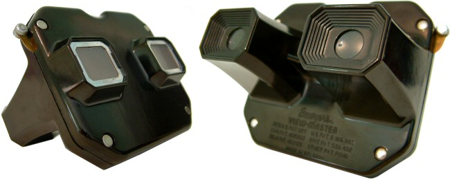 Sawyers View-Master Model C  (common black version)